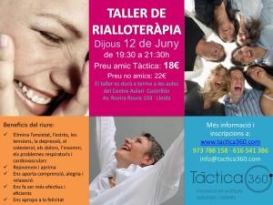 Taller de Rialloteràpia @ Av. Rovira Roure 103 | Lleida | Catalunya | Espanya